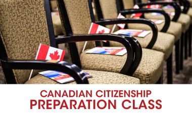 Canadian Citizenship Preparation Class