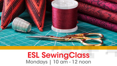 ESL Sewing Class