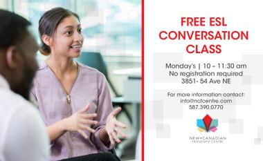 Monday ESL Conversation Class