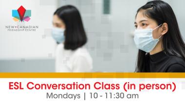 ESL Conversation Class (In-Person)