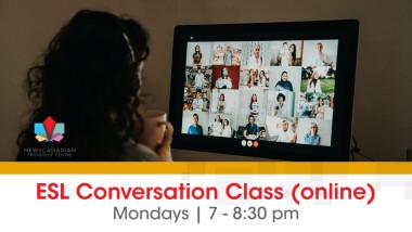 ESL Conversation Class (online)